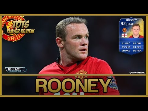 FIFA 14 UT - TOTS Rooney || Team Of The Season Ultimate Team 92 Player Review + In Game Stats