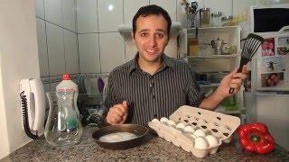 Como fritar ovo sem usar fogo