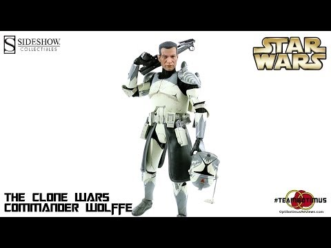 Video Review of the Sideshow Collectibles: Commander Wolffe