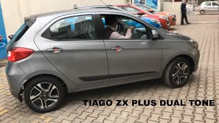 USER DELIVERY of Tata Tiago xz+ (plus) Dual tone 2019 |  | Titanium Grey |  |