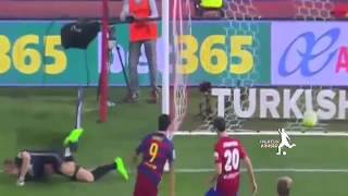 fcb vs  atlético madrid 2 1 all goals 12 09 2015