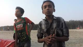 modhu hoi hoi bish khawaila  (amazing small boy)