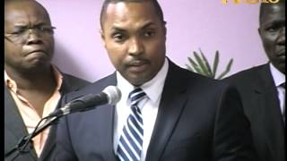 VIDEO: Haiti - Installation Emmanuel Menard kom Nouvo Directeur General ONA