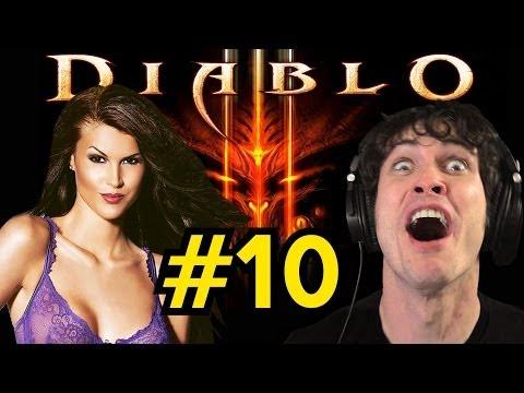 Playmate Plays Diablo 3: NOOOO!!! (Part 10)