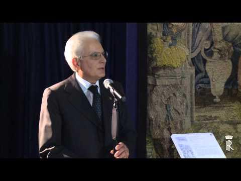 """Roma - Inaugurazione della mostra """"Il Principe dei sogni.....'' (16.02.15)"""