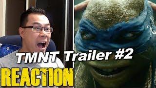 REACTION to Teenage Mutant Ninja Turtles Trailer #2