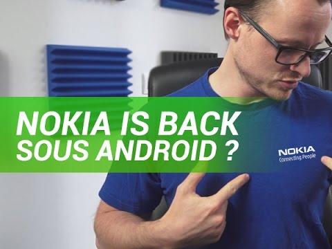 Nokia de retour, sous Android ? Explications - W38