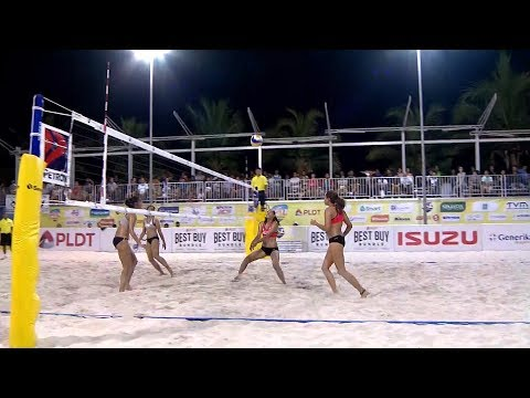 Sta.Lucia - B vs. F2 Logistics | PSL Beach Volleyball Challenge Cup 2018