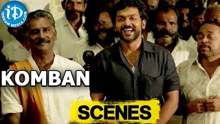 Komban Movie || Karthi, Thambi Ramaiah Nice Court Scene