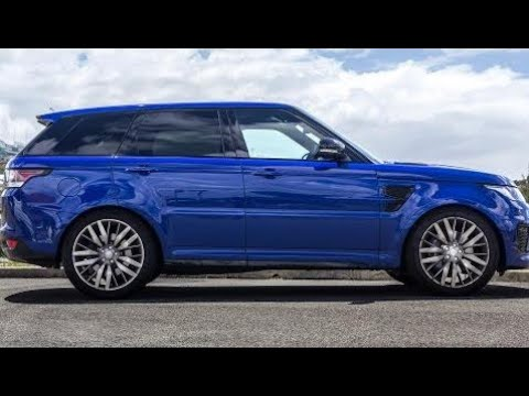 2018 Range Rover Sport SVR 0-60 All Terrain Test - Crazy Exhaust Sound   Luxury Car Reviews