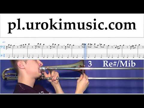 Nauka Gry Na Puzonie Beethoven - Für Elise Nuty Poradnik Część 2 Um-b463