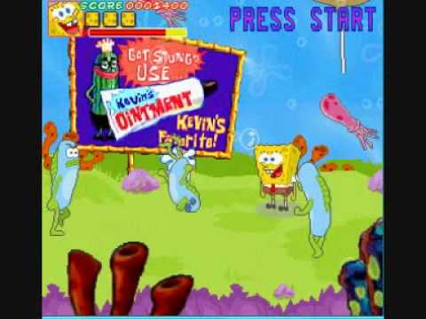 SpongeBob SquarePants Arcade Game - Jason Orme
