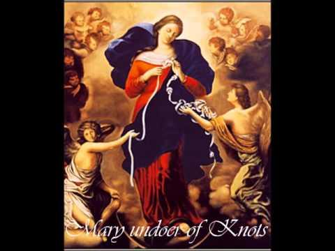 Prayer of Pope Francis  Mary Undoer of Knots