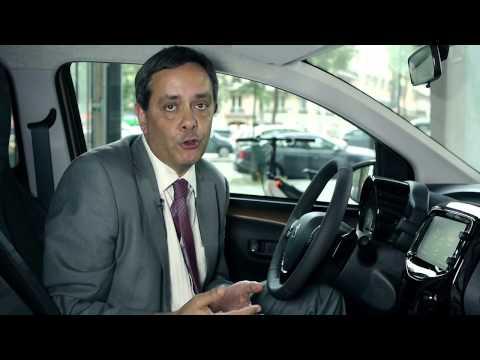 La voiture connectée de demain de PSA Peugeot Citroën