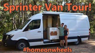 Sprinter Van Conversion - DIY Stealth Camper Tour