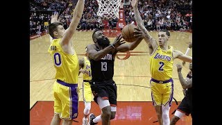 RIGGED Comeback Win vs Lakers: Harden's 48 Points, Walton's Ejection, Eric's 3, Lonzo's FAKE Injury!