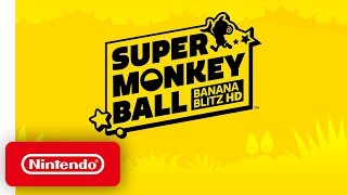 Super Monkey Ball: Banana Blitz HD - Announcement Trailer - Nintendo Switch