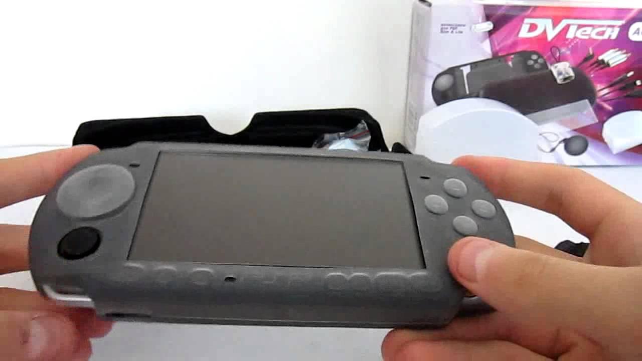 Посмотреть ролик - Смотреть: Распаковка и обзор аксессуаров для PSP 3008 ак