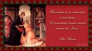 Franz Schubert Ave Maria En Latin