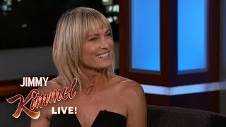 Robin Wright on Moving to Paris as a Teenager