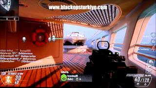 "Black Ops 2 Multiplayer * TÜRKÇE * Gameplay ""Hijacked"""