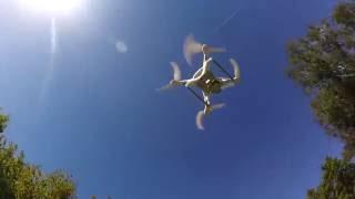DJI F 4 - Sunday dron Flying