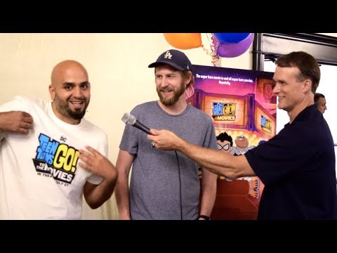 Teen Titans Go! To The Movies Aaron Horvath And Peter Michail Interview At SDCC Premiere