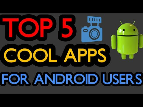 TOP 5 UNIQUE APPS | 2018 | BEST ANDROID APPS FOR ANDROID USERS | TECH IN TRACK !!!!