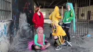 •YNT• BLOOPERS Live action Vocaloid MATRYOSHKA (Miku Hatsune & Gumi Megpoid )