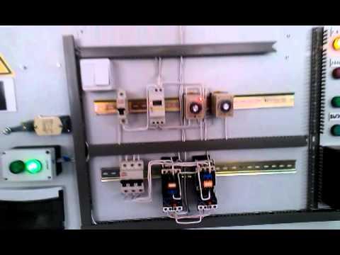 Автоматический реверсивный пуск электро двигателя
