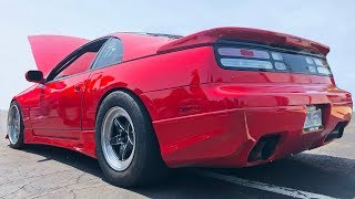 Nissan 300ZX SURPRISES muscle cars on the STREET!