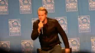 Carey Elwes panel at Planet Comicon 2015 Part 2