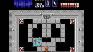 Zelda (NES) Ganon Fight & Ending