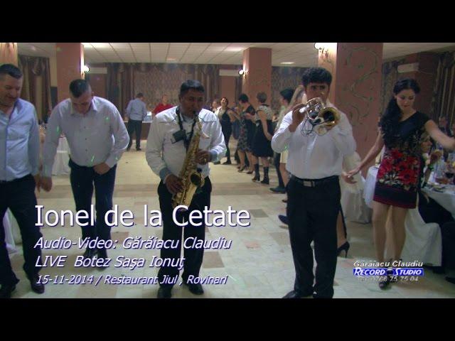 Ionel de la Cetate LIVE(colaj HORA) part.3 Botez Sasa Ionut 15-11-2014