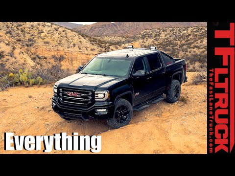 2016 GMC Sierra All-Terrain X : Everything You Ever Wanted to Know