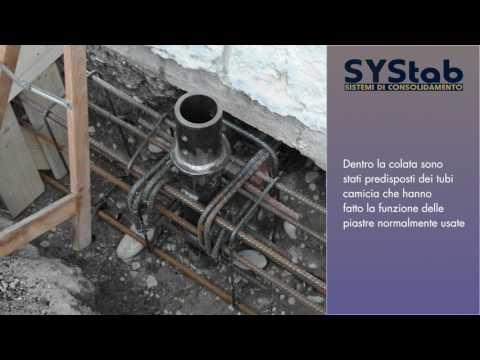 Systab - Consolidamento fondazioni chiesa di Coloreto