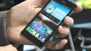 LG Optimus 4X HD quad-core smartphone live from MWC 2012