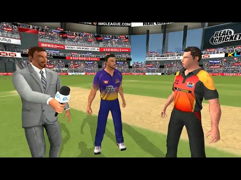 Semi FInal 25th May IPL 11 Sunrisers Hyderabad Vs Kolkata Knight Riders Real cricket 2018 Gameplay