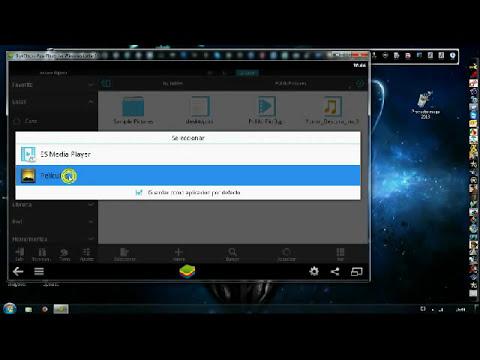 Bluestacks_Como pasar archivos a la pc o de la pc