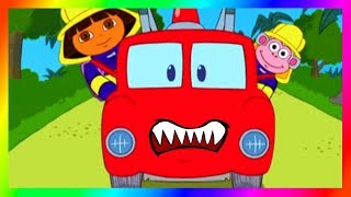 Dora and Friends the Explorer Episodes Rojo the Fire Truck 🚒 Gameplay as a Cartoon 🙅