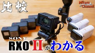 【Sony RX0 Ⅱ】#3 RX0 Ⅱがわかる動画!Osmo・GoProとの比較も!