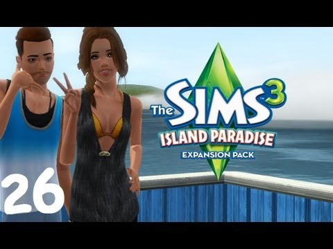 Let's Play: The Sims 3 Island Paradise - (Part 26) - Shark Fight!