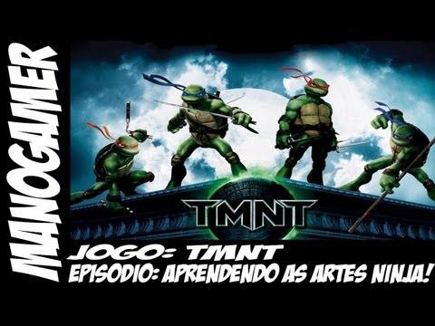 TMNT- Aprendendo as artes ninja