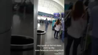 Hướng dẫn đi máy bay lần đầu mới nhất 2017 tại sân bay Tân sơn Nhất- facebook : La Huyền
