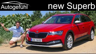 New Skoda Superb Facelift FULL REVIEW Scout Combi 2019 2020 - Autogefühl