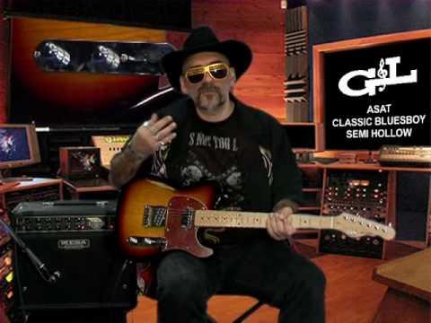Judge Fredd & la G&L ASAT Classic BluesBoy (La Boite Noire)