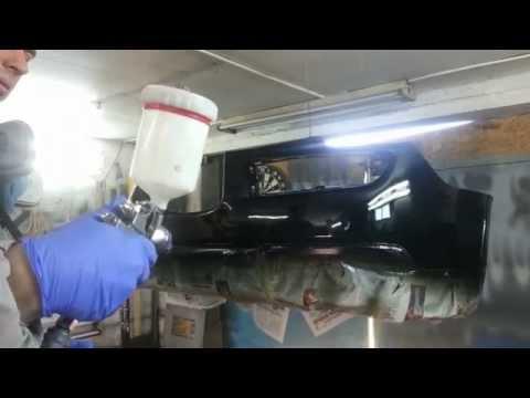 Покраска авто металликом своими руками в гараже 73