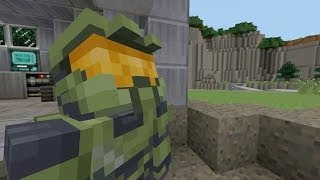 Minecraft: Xbox 360 Edition - Halo Mash-up