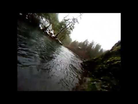 Jig Fishing Winter Steelhead in Oregon with GoPro camera