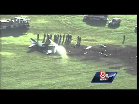 Plane registered to Boston company crashes in Milwaukee
